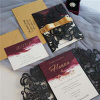 Laser Cut Wedding Invitations WPL0175_4